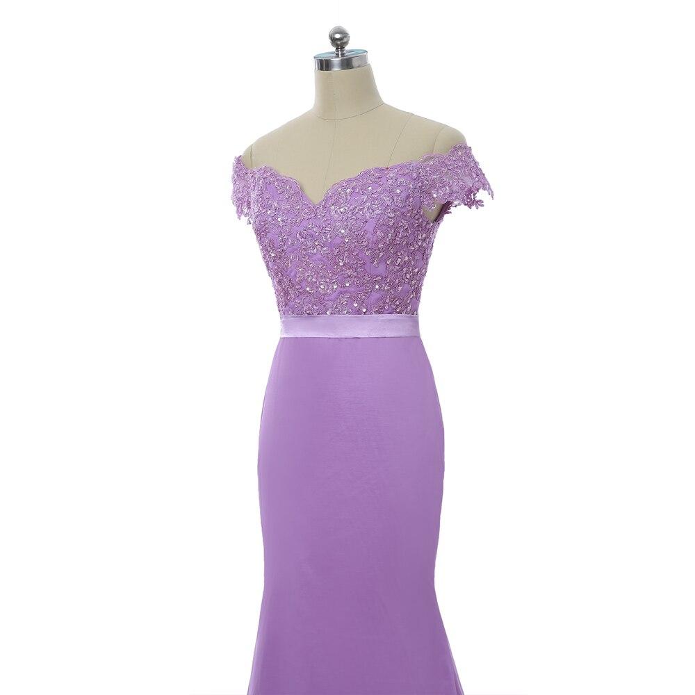 Lavender 2018 Bridesmaid Dresses Cheap Under 50 Mermaid Deep V neck ...