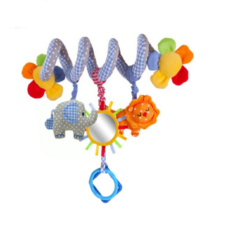 Felpa rusa e inglesa cochecito de música colgando del bebé juguetes - Juguetes para niños