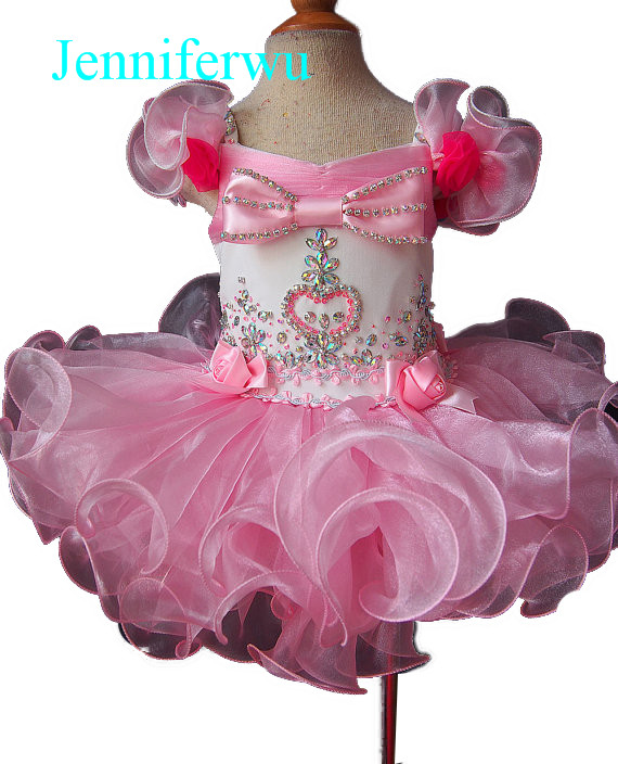 купить baby girl pageant  dress  girl brand clothes baby girl party dress and clothes baby girl  1T-6T E029-2 дешево