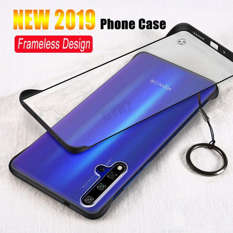 GYKZ Luxury Transparent Case For Huawei Honor 20 Pro Ultra-thin frameless Phone