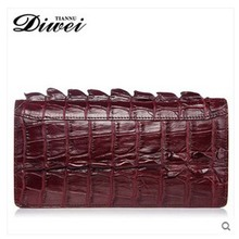 diwei crocodile man purse leather large capacity hand bag long wallet authentic handbags business and leisure travelers