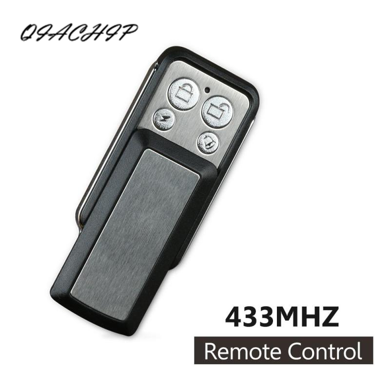 QIACHIP Universal 433MHz Module 4-Channel Remote Control 433MHz  RF Transmitter Duplicating Cloning  Key Fob Relay Receiver