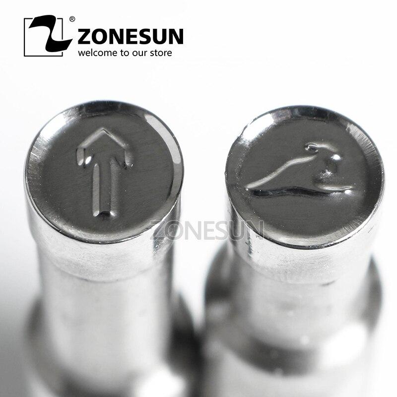 все цены на ZONESUN Kangaroo Logo Customized Milk Tablet Slice Die Stamp Precision Punch Die Mold Sugar Tablet Press Tool Tdp 0/1.5/3 онлайн
