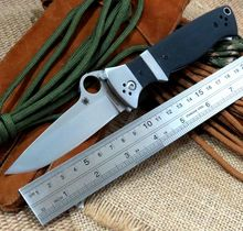 New Shopping C149 Spider G10 handle 9 cr13 steel blade folding knife Tactical knives outdoor camping survival tool