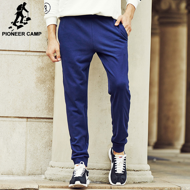 Pioneer Camp men brand New design joggers Pants Casual side Printed Sweatpants Solid  Trousers male  Pants  622126