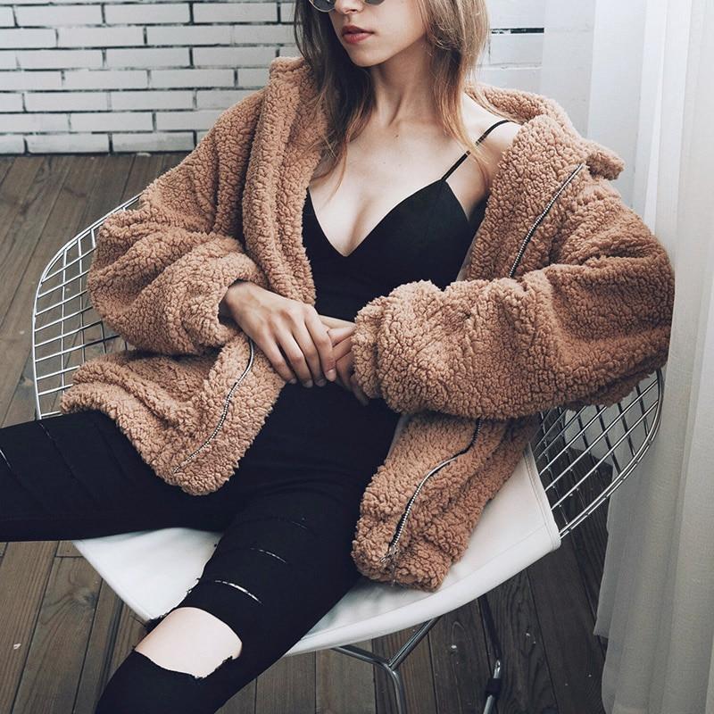 Plus Size Outwear for Pregnant Women Winter Coat Female Newest Fashion Design Women's Long Sleeve Loose Streetwear Parka