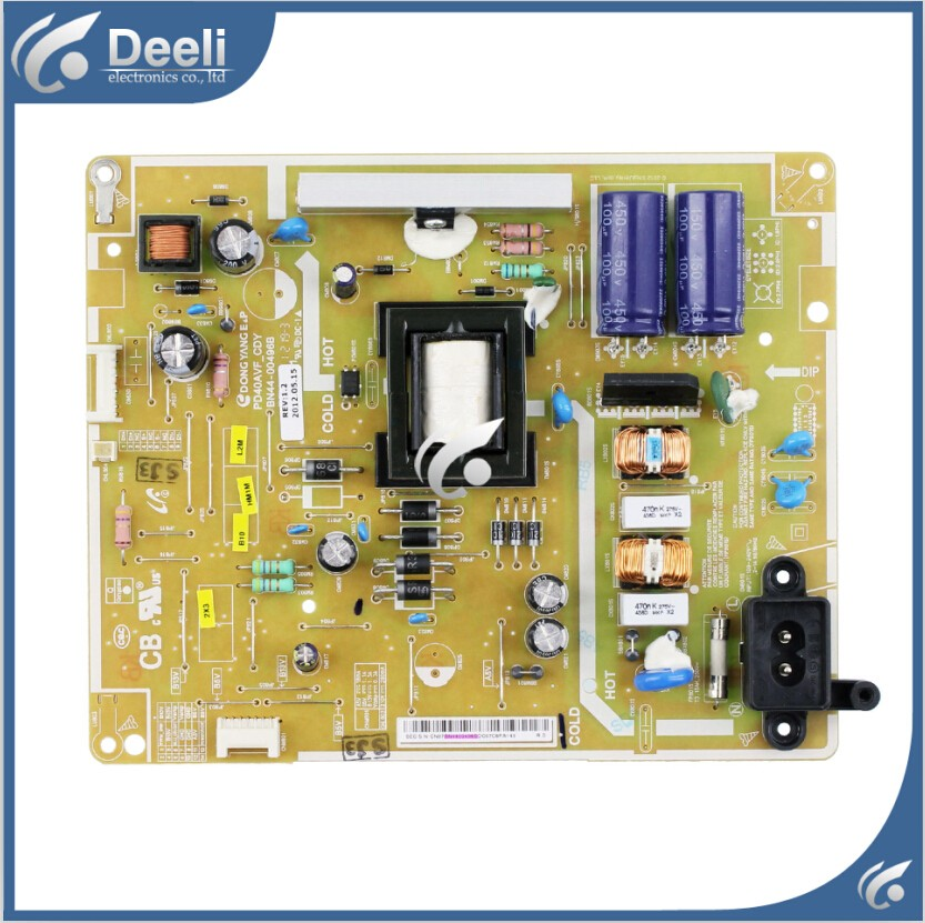 все цены на good Working original 95% new used for power supply board BN44-00496B PD40AVF_CDY