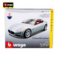 Bburago 1:24 Maserati GT Gran Turismo Assembly DIY Racing Diecast Model Kit Kits Car Toy New In Box Free Shipping 25083