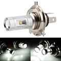 1Pc COB LED H4 30W Pure White Car Fog Head Light Signal Tail Parking Bulb Lamp DC 12V 24V H4 LED Car Light
