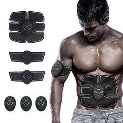 Equipamento abdominal do gym do estimulador do músculo da aptidão para o instrumento de treinamento do emagrecimento do corpo shaper máquina exercitador do treinamento do músculo
