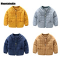 New Boys Cotton Baseball Jackets Casual Kids Warm Coats Winter 1-5Y Children's Clothing High Quality Child Thick Outerwear SC739