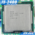 Free Shipping lntel I5 2400 CPU Processor Quad-Core(3.1Ghz /L3=6M/95W) Socket LGA 1155 Desktop CPU i5-2400 (working 100%)
