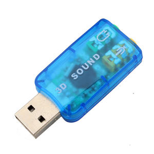 External USB Sound Card Audio Card Adapter Computer Stereo Mic Audio USB Converter