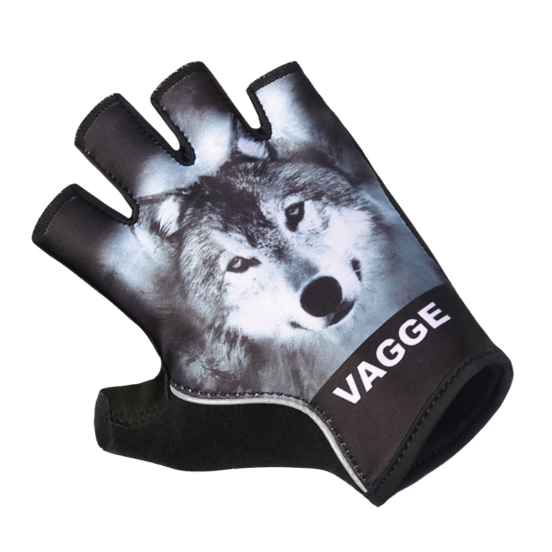 Wholesale heated racing bike mittens/breathable pro team sublimation bicycle gloves/black anti-shock sport cheap cycling gloves