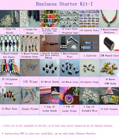 Rice Starter Kit Rice jewelry Starter Kit Diy By yourself