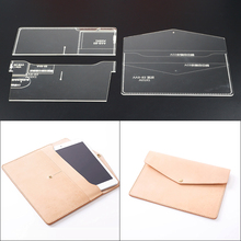 1set Acrylic Leather Template Home Handwork Leathercraft Tools Accessory