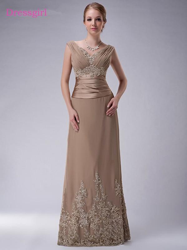 plus size 2019 mother of the bride dresses a line cap