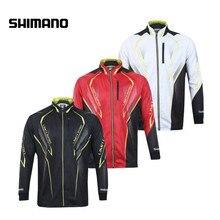 Model Fishing Garments 2018 New Shimano Fishing Shirt Skinny Breathable Hygroscopicity Fast Dry Anti-UV Fishing Clothes