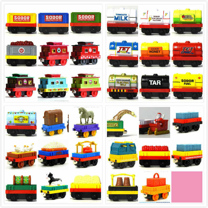 35 Rare Die Cast Train Tender Diecasts Magnetic Connector Magnetic Tailsor Kids Toys Engine Railway for Children Gifts for Kids