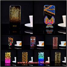 Luxury Puro Just Cavallis Leopard / Snake Print TPU Case Silicon Cover for iphone 5 5s case phone capa celular
