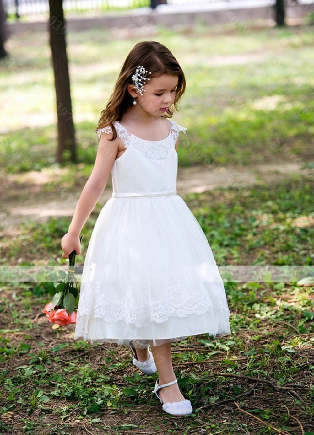 Little Girls White Dress | But Dress