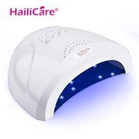 24/48W Nail Dryer LED UV Lamp Nail Gel Polish Tools Nail Salon Dry Quickly Nail Manicure M5s/30s/60s Timer
