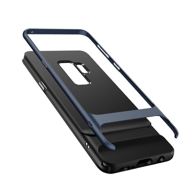 huge selection of df8de 99657 US $7.99 30% OFF|for Samsung Galaxy S9 S9 Plus Cases Rock Royce Series  Luxury Shockproof Soft TPU+PC Back Shell Cover Capa Brands for S9-in Fitted  ...
