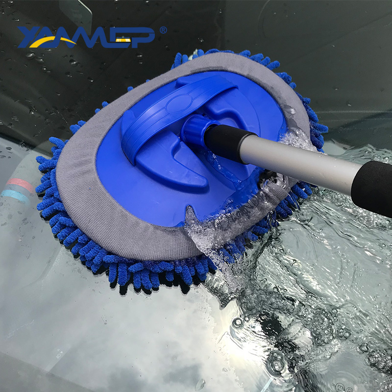 Car Wash Brush Chenille Mop Cleaning Windows Window Squeegee Car Cleaning Tools Tyre Brush Car Accessories Cleaning Xammep