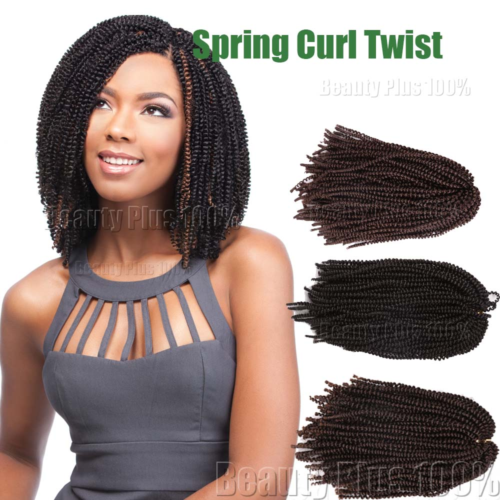 Hot sale spring curl crochet braids synthetic kinky curly hair hot sale spring curl crochet braids synthetic kinky curly hair extensions ombre braiding hair senegalese twist crochet hair bulk on aliexpress alibaba pmusecretfo Images
