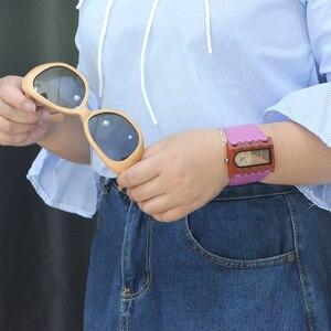 Image 3 - BOBO BIRD ใหม่ล่าสุดเกียร์ยี่ห้อ Designer นาฬิกาไม้ Handmade ผู้หญิงชุดลำลองนาฬิกาข้อมือที่ไม่ซ้ำกันหนังสีสันแถบของขวัญกล่อง