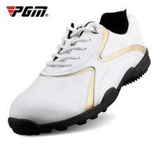 цена на PGM Golf Shoes Men's Sports Shoes Breathable Anti Slip Waterproof 2019 New Arrival Mens Golf Shoes Light Weight Sports Shoes