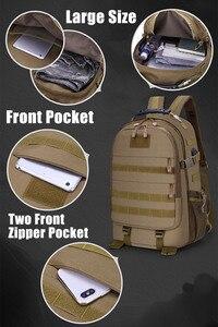 Image 2 - 40L askeri taktik Assault paketi sırt çantası ordu Molle su geçirmez Bug sırt çantası açık yürüyüş kamp avcılık şarj deliği