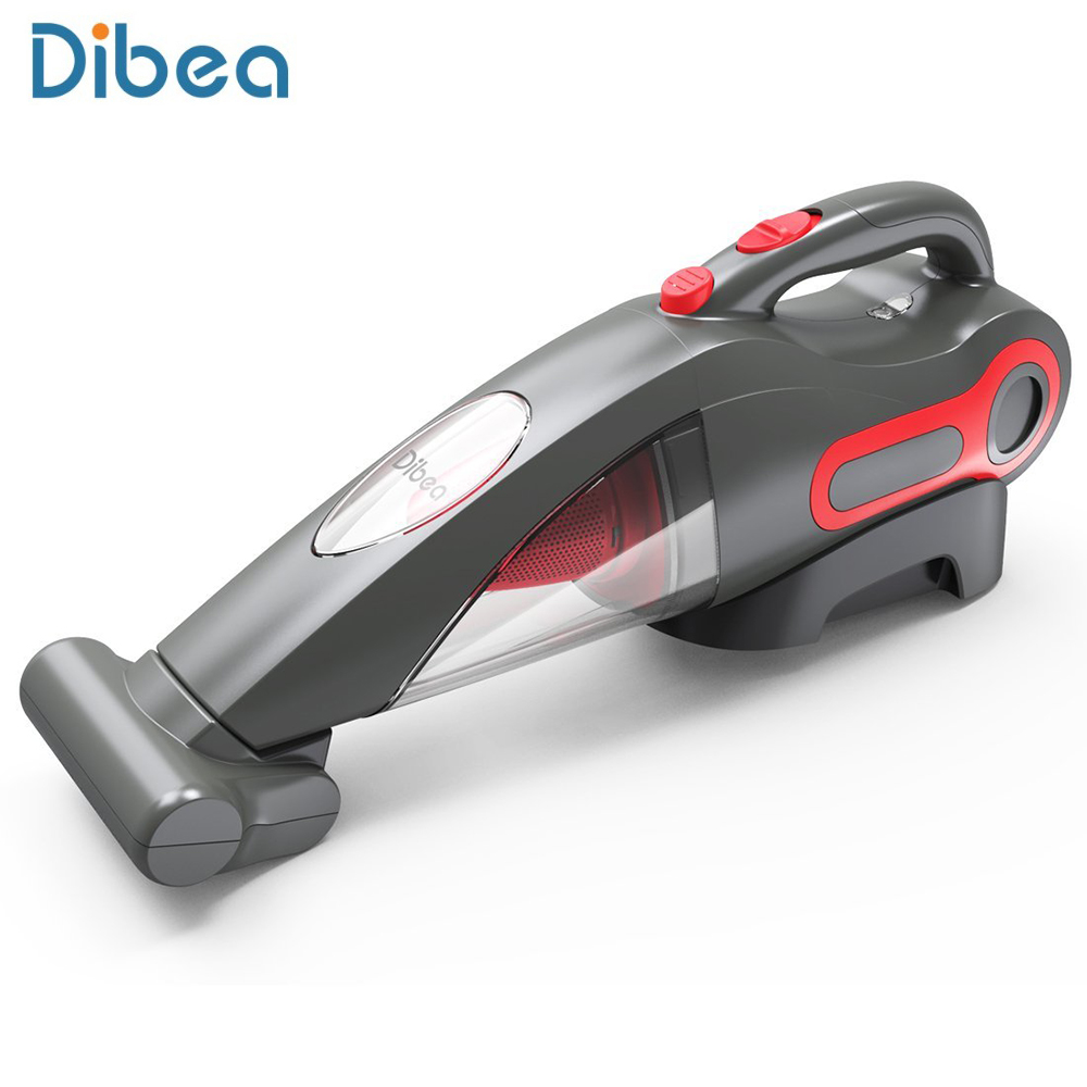 Dibea BX350 Lightweight Handheld Vacuum Cleaner Dust Collector Household Cordless Cleaning Appliances With Motorized Brush