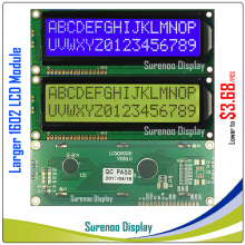 Larger 162 16X2 1602 Larger Character LCD Module Display Screen LCM Yellow Green Blue with LED Backlight