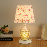 LED Table Lamp Fashionable Bedroom Ceramic Table Lamp Pupil S Table Lamp College Student Eye Lamp