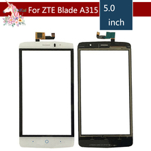 5.0 For ZTE Blade A315 LCD Touch Screen Digitizer Sensor Outer Glass Lens Panel Replacement цена