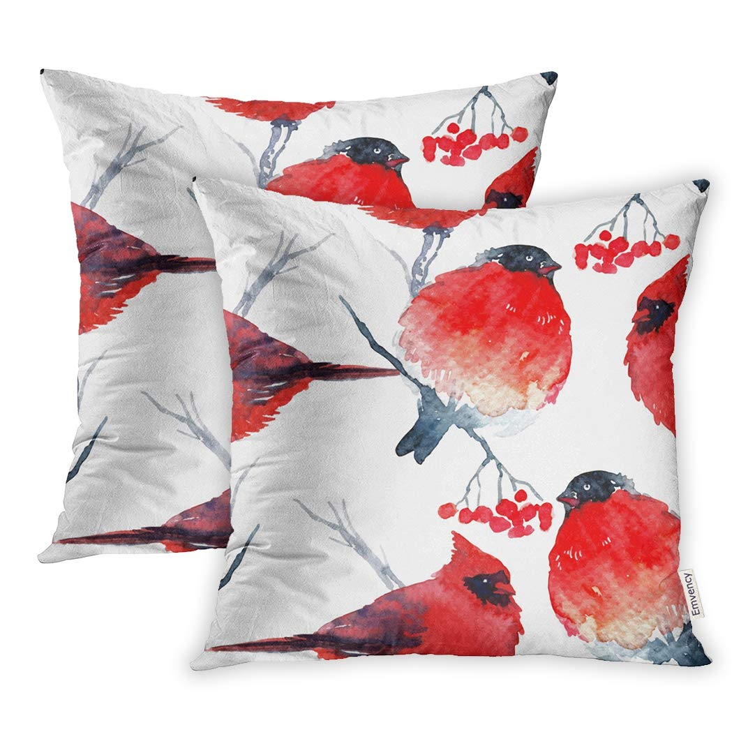 Throw Pillow Covers 18 X Inches Red