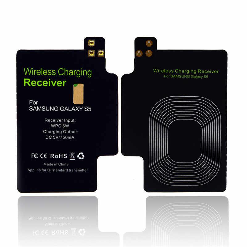 Pour Samsung Galaxy S5 Qi Kit de charge sans fil S5 récepteur de chargeur sans fil pour Galaxy S 5 I9600 G900 G900S G900I G900F G900H