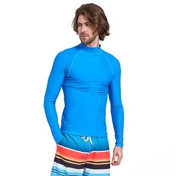 a616c56c95e8 Charmo mujeres de manga larga con cremallera Rashguard traje de baño con  estampado Floral de La Guardia rápida traje de baño Surfing Top Rash guard  Running ...