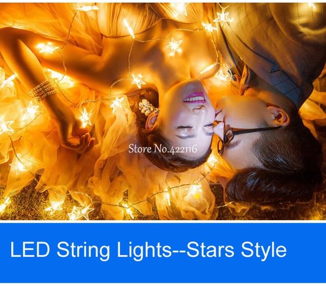 10m 100 Stars Kerstverlichting Outdoor Led Lights String Strip Fairy