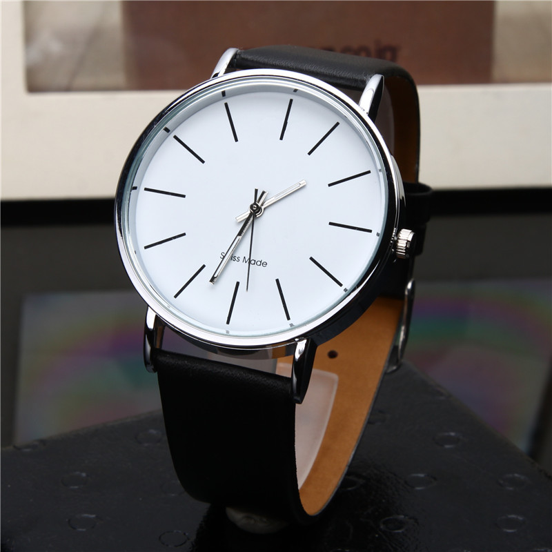 New Fashion Women Watch Red Leather Band Quartz Wristwatch Girl Lady Watches Casual Watch Wrist Clock Reloj Mujer Drop Shipping