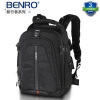 Benro paradise cw 250 двойное плечо slr серии профессиональная фотокамера сумка рюкзак дождевик