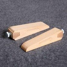 DIY Кожа ремесло обработка края польский песок бумажный зажим дерево винт вверх рука+ 9 шт