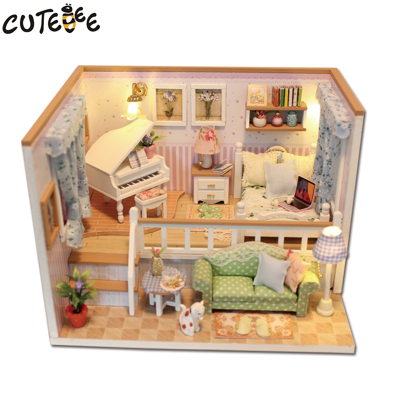 CUTEBEE-Doll-House-Miniature-DIY-Dollhouse-With-Furnitures-Wooden-House-Stars-Sky-Toys-For-Children-Birthday-Gift-M026-1