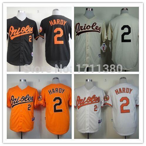 32fed5eaa64 discount baltimore orioles 2 j.j. hardy 1954 cream jersey 170cb 38c91