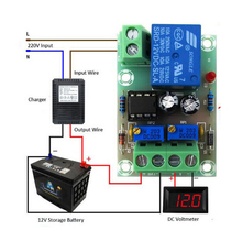 Xh-m601 Батарея зарядки Управление доска 12 В интеллектуальные Зарядное устройство Питание Управление модуль Панель автоматическая зарядка/стоп Мощность