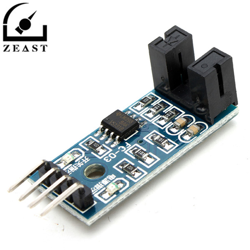 Speed Measuring Sensor Counter Motor Test Groove Coupler Module Optical Coupling Module For Arduino