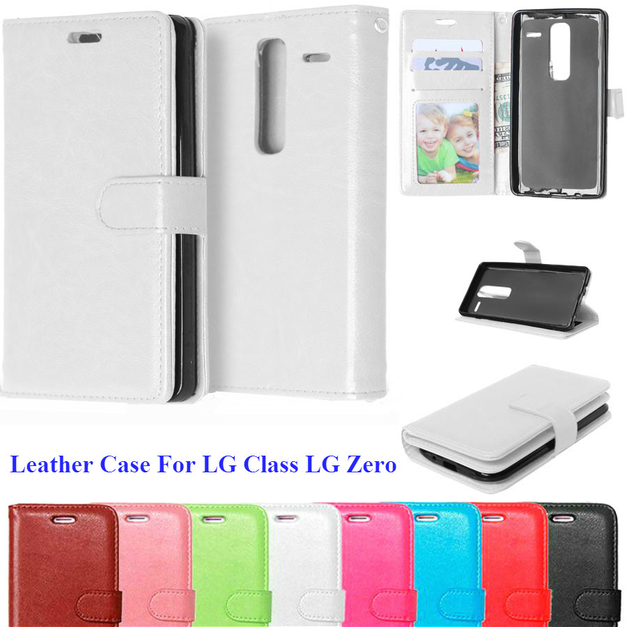 Luxury Leather Book <font><b>Case</b></font> <font><b>For</b></font> <font><b>LG</b></font> <font><b>Class</b></font> <font><b>H650e</b></font> Flip Phone Cover <font><b>Case</b></font> <font><b>for</b></font> <font><b>LG</b></font> <font><b>H650E</b></font> <font><b>Class</b></font> Zero H650 F620S <font><b>Case</b></font> With Card Holder image