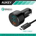 Aukey Qualcomm Quick Charge 3.0 Universal Charger Phone Charger Travel Car Charger 3x USB Port Adapter Portable Charger