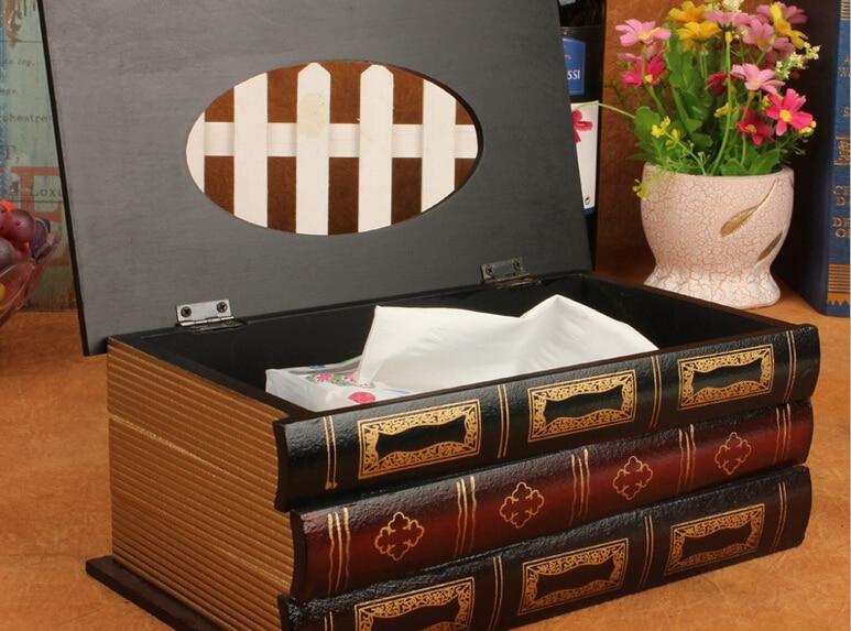 Kutia e indeve retro Simulimi i kutive prej druri antike evropiane - Magazinimi dhe organizimi në shtëpi - Foto 2